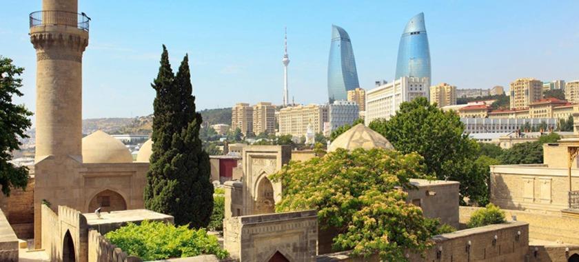 Azerbaycan Bakü İçerişehir Tour