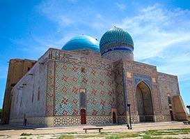 Kazakistan Turu | Ahmet Yesevi Hz. | Çimkent | Yesi