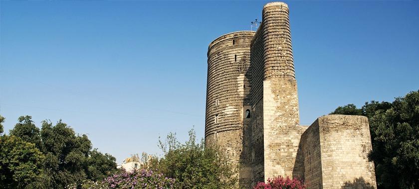 Azerbaycan Bakü Kız Kalesi Turu