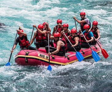 Dallas Rafting- Beşkonak ( Transferli) Turu