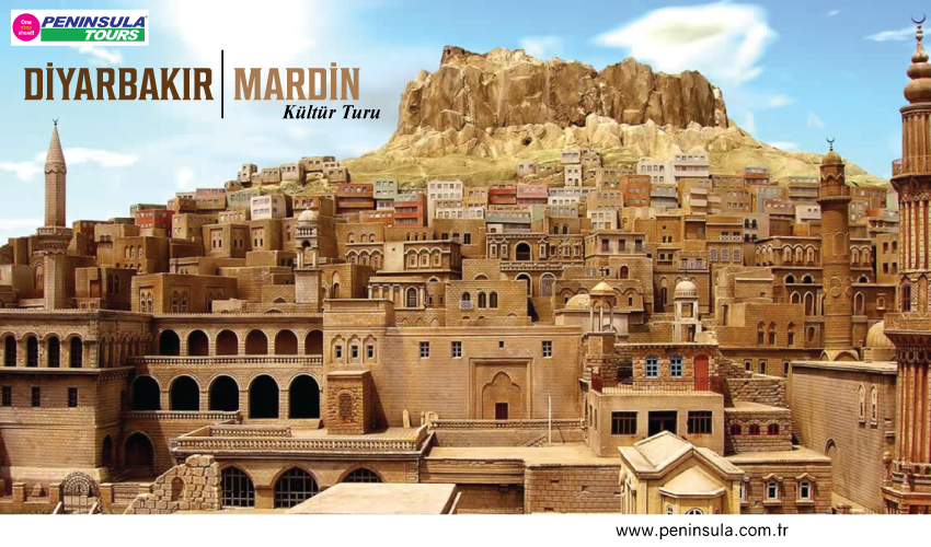 Diyarbakır Midyat Mardin Turu