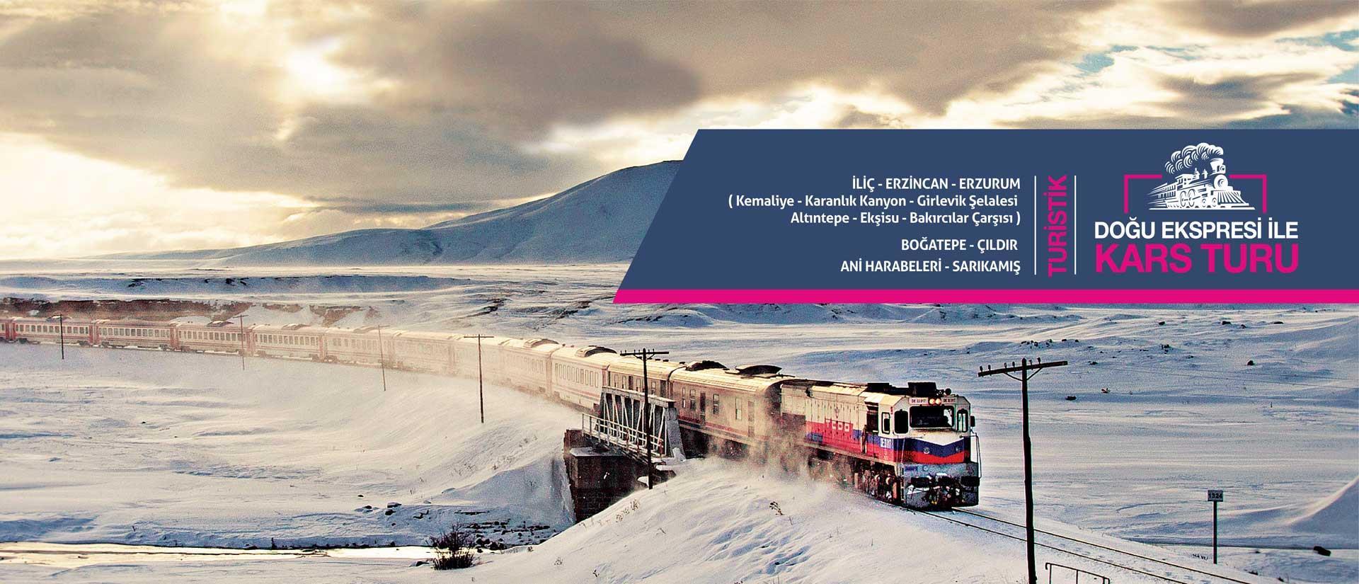Turistik Doğu Ekspresiyle Kars Turu