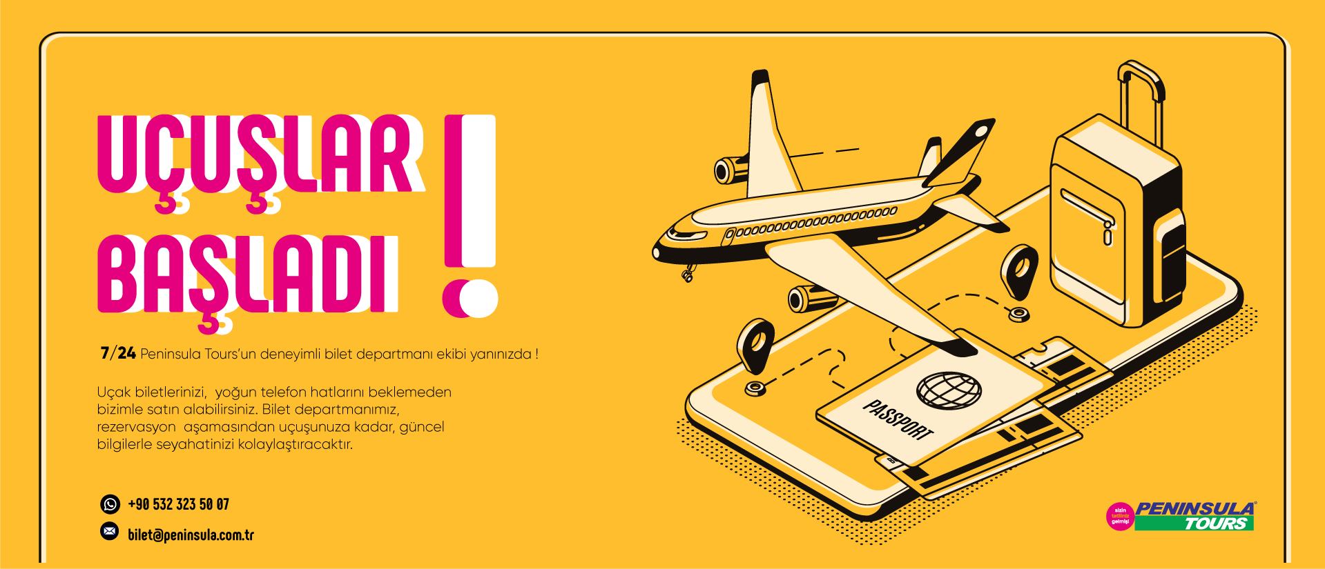 Uçak bileti Banner