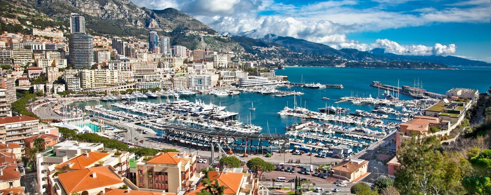 Sonbaharda Fransız Rivierası Cote D'azur