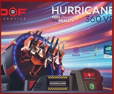Scop Eğlenceli Bilim Merkezi (Hurricane 360 VR)