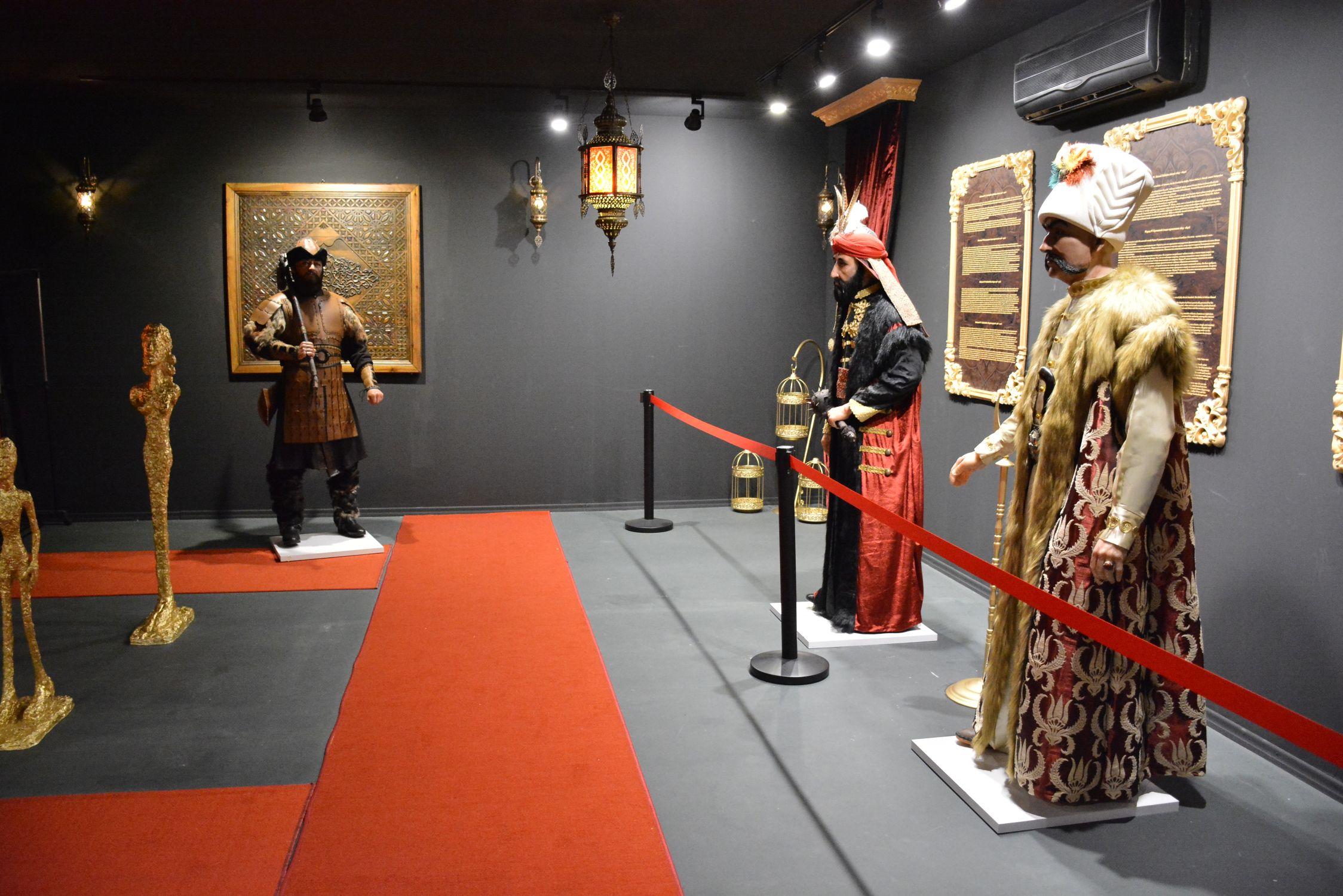 Ottoman Wax Museum / Osmanlı Padişahları Mum Heykel Müzesi Turu