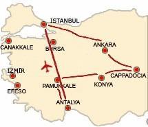 Tour della Turchia + Soggiorna Mare Antalya  Tour