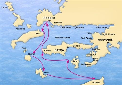 Istanbul + Crociera in Caicco Bodrum Dodecaneso Sud Tour