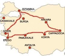 Tour della Turchia (Estate 2018) Tour