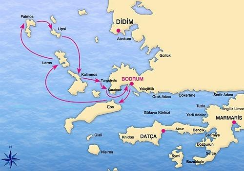 Istanbul + Crociera in Caicco Bodrum Dodecaneso Nord Tour