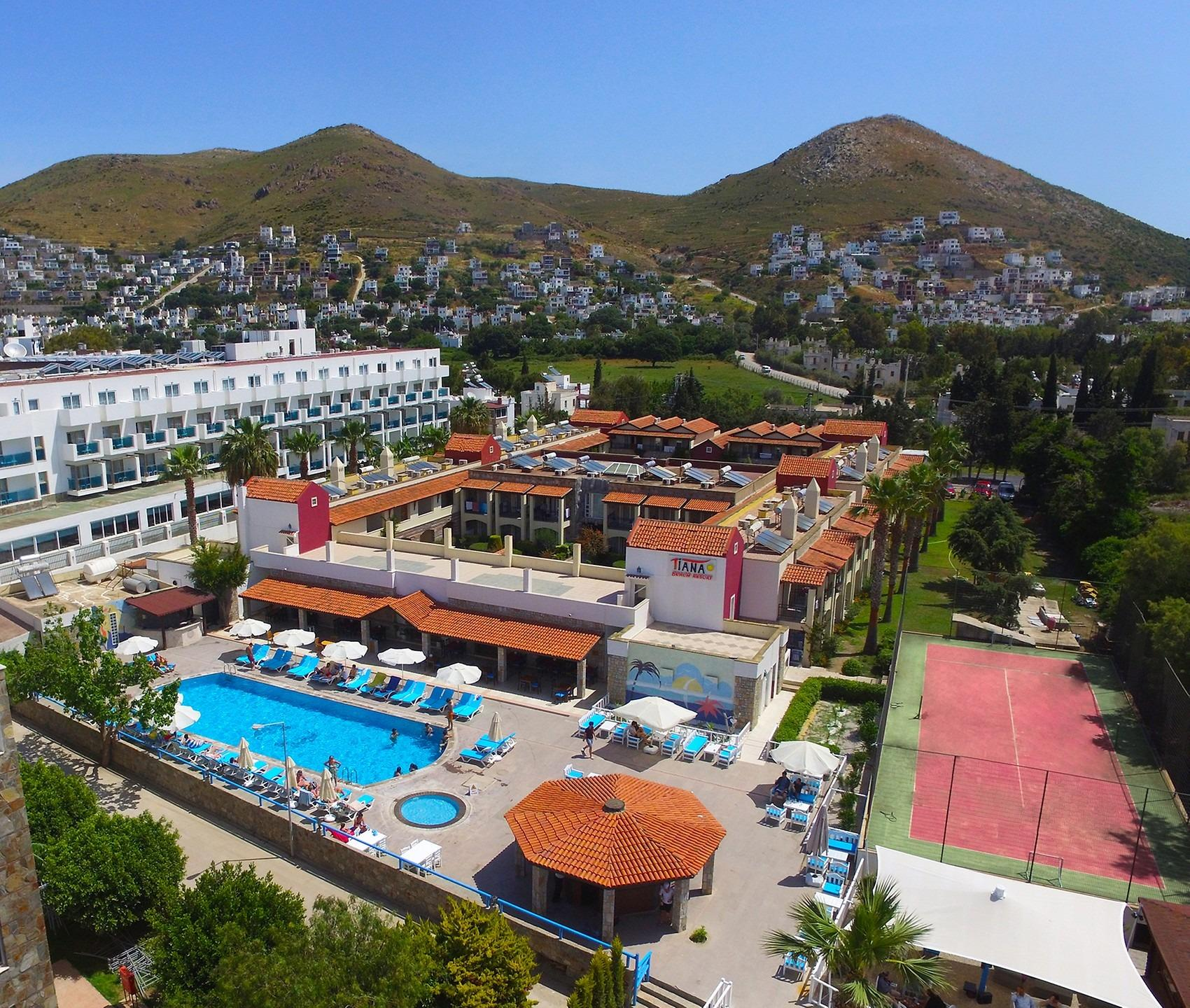 Bodrum Tiana Beach Resort 3* Sup. Turgutreis Tour