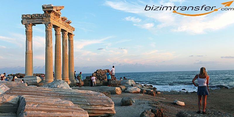 Antalya Havalimanindan Side'ye ulasım